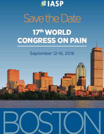 ۱۷th World Congress on Pain