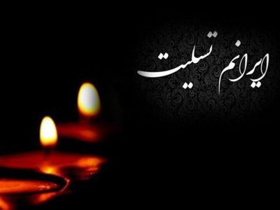 درگذشت هموطنان عزیزمان در وقوع زلزله کرمانشاه را تسلیت می گوییم
